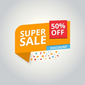 Abstract discount background