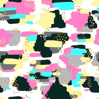 Abstract doodle pattern