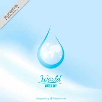 Abstract drop background