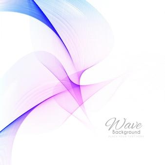 Абстрактный элегантный красочный фон волны