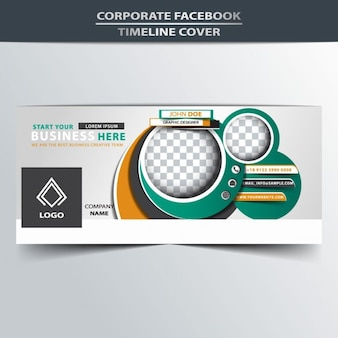 Abstract facebook timeline cover