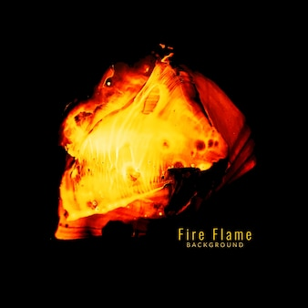Abstract fire flame background