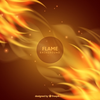 Abstract flames background
