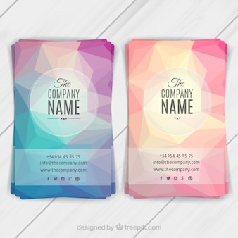 Abstract flyers template