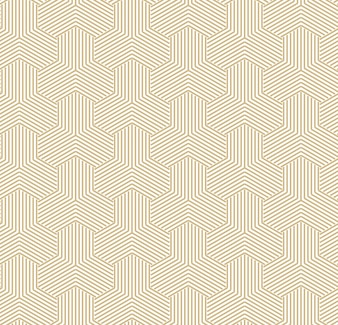 Abstract golden geometric pattern