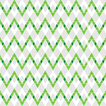 Abstract green zigzag background
