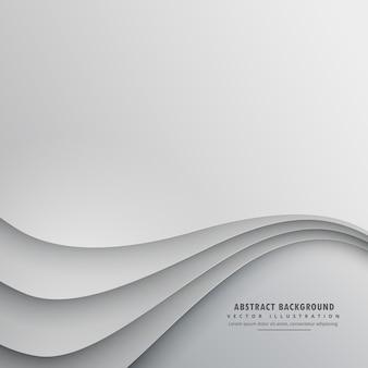 Дизайн волнистой векторной фон