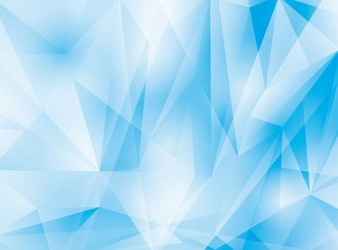 Abstract ice with geometrical shape background