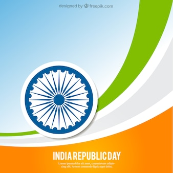 Abstract india republic day background