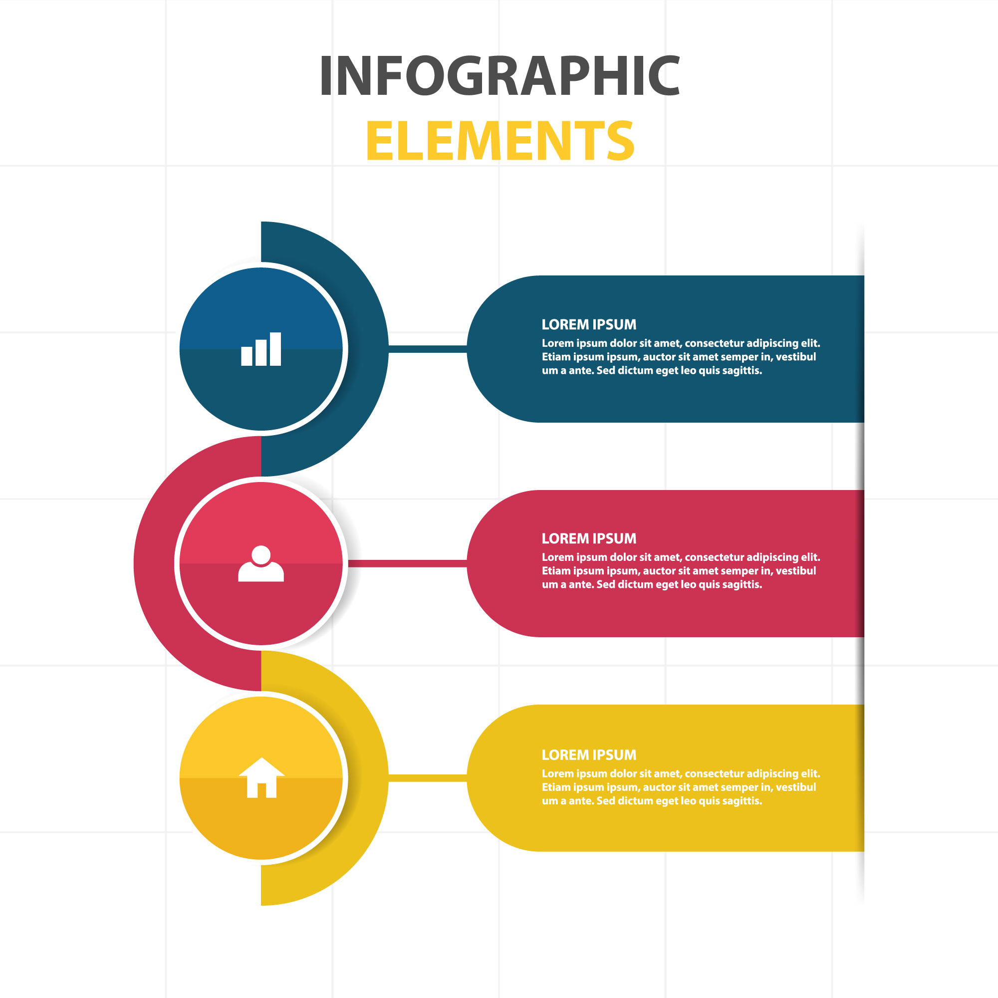 Abstract infographic business template
