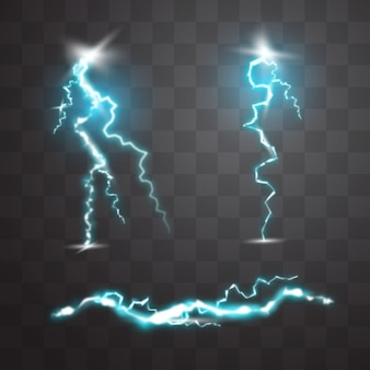 Abstract Lightning Elements