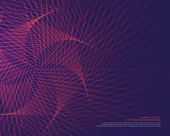 抽象的なラインの背景ベクトル設計