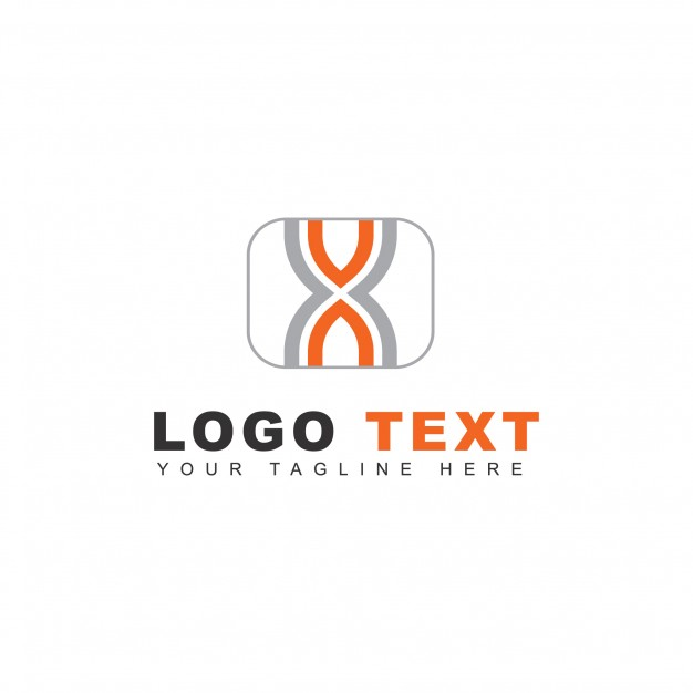 Abstract logo with lines