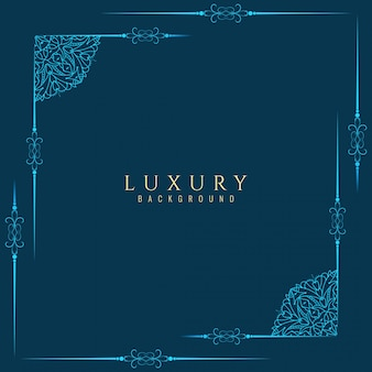 Abstract luxury frame background