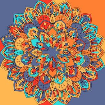 抽象的な曼荼羅のデザイン