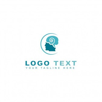Abstract mental logo