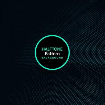 抽象的な現代ハーフトーンデザインの背景
