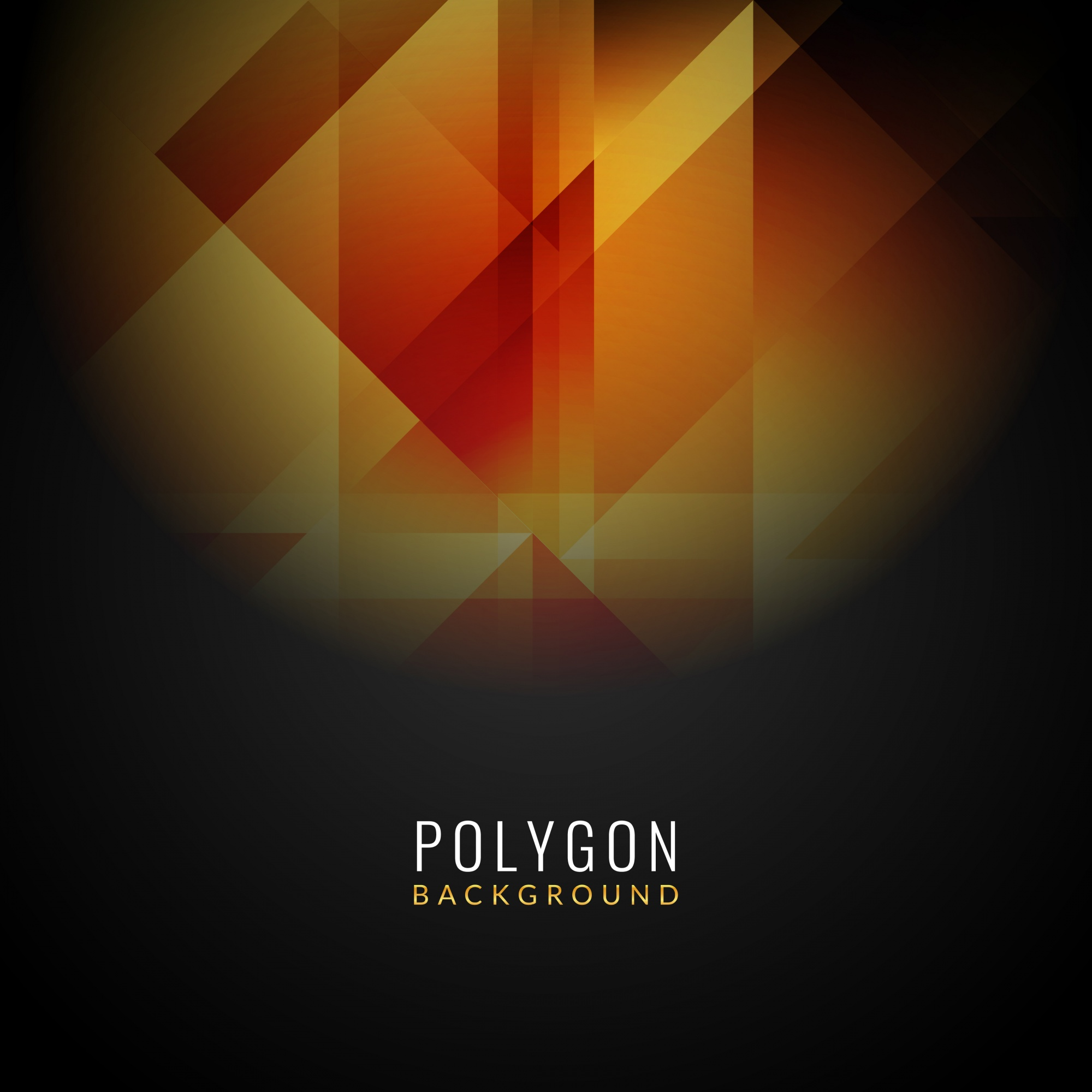 Abstract modern polygonal background