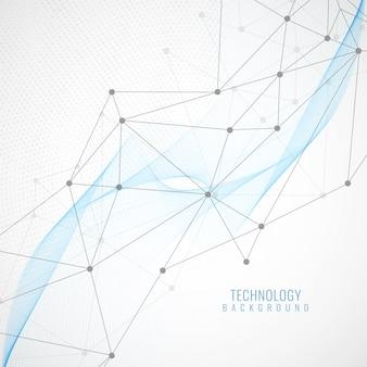 抽象的な現代技術の背景