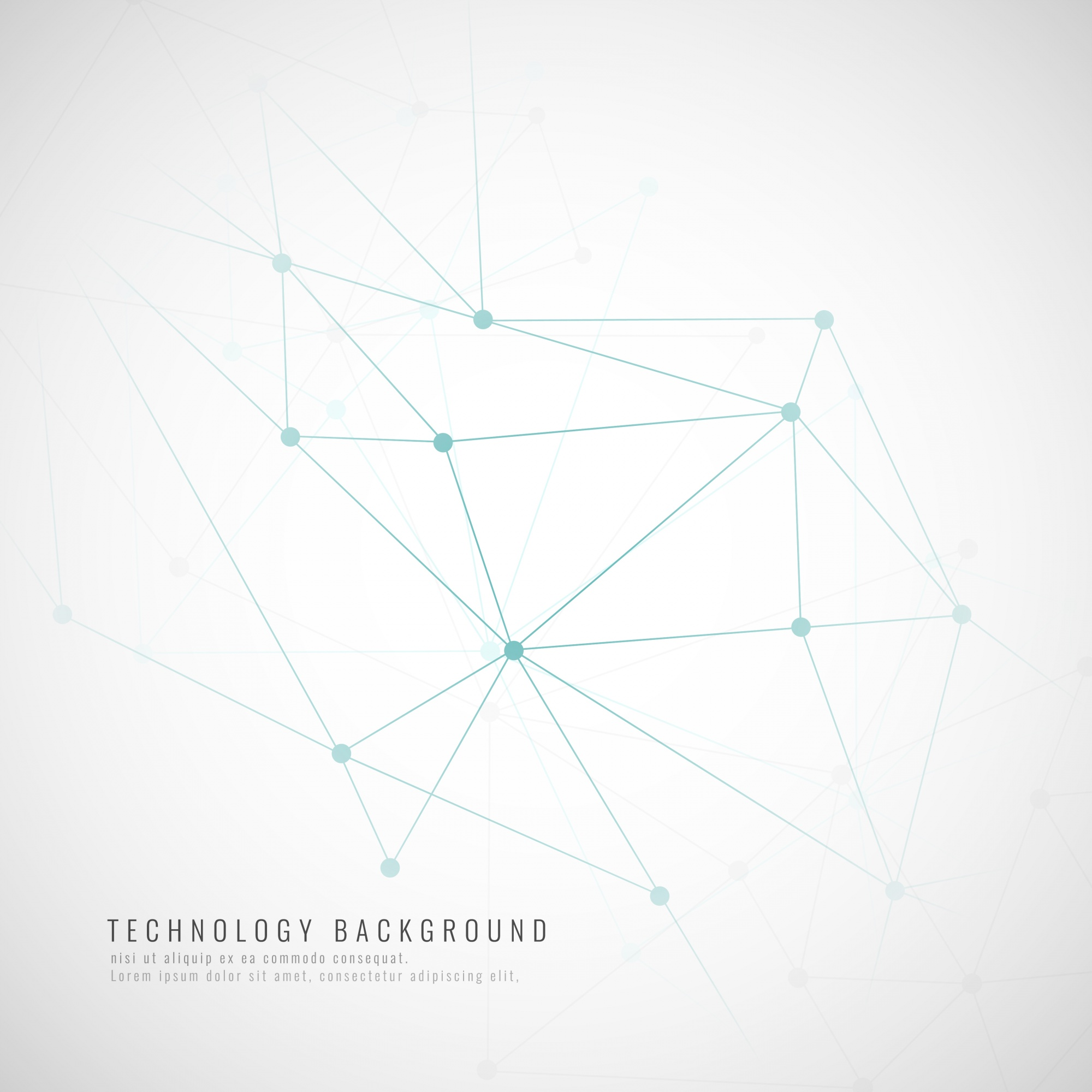 Abstract modern technological background