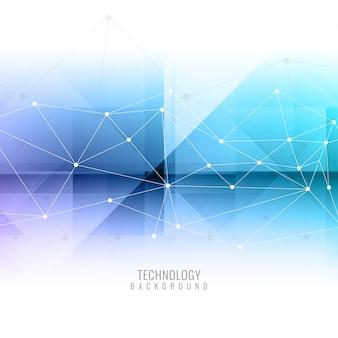 抽象的なモダンテクノロジーの背景