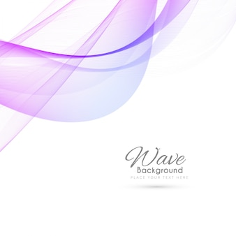 Abstract modern wave background