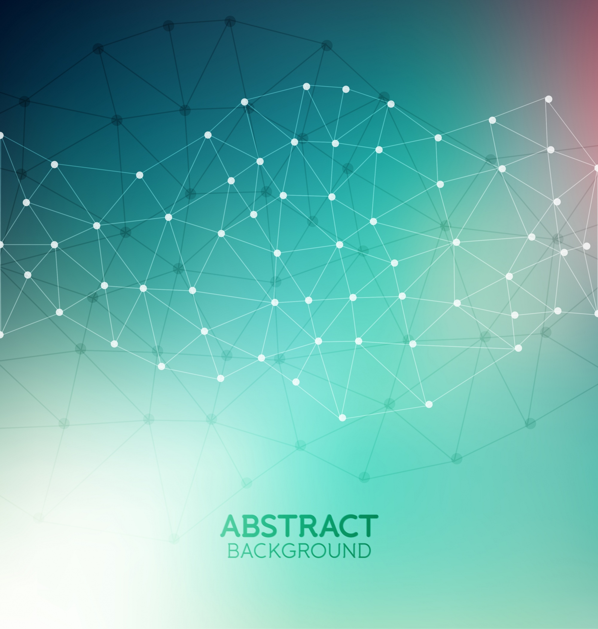 Abstract molecular background