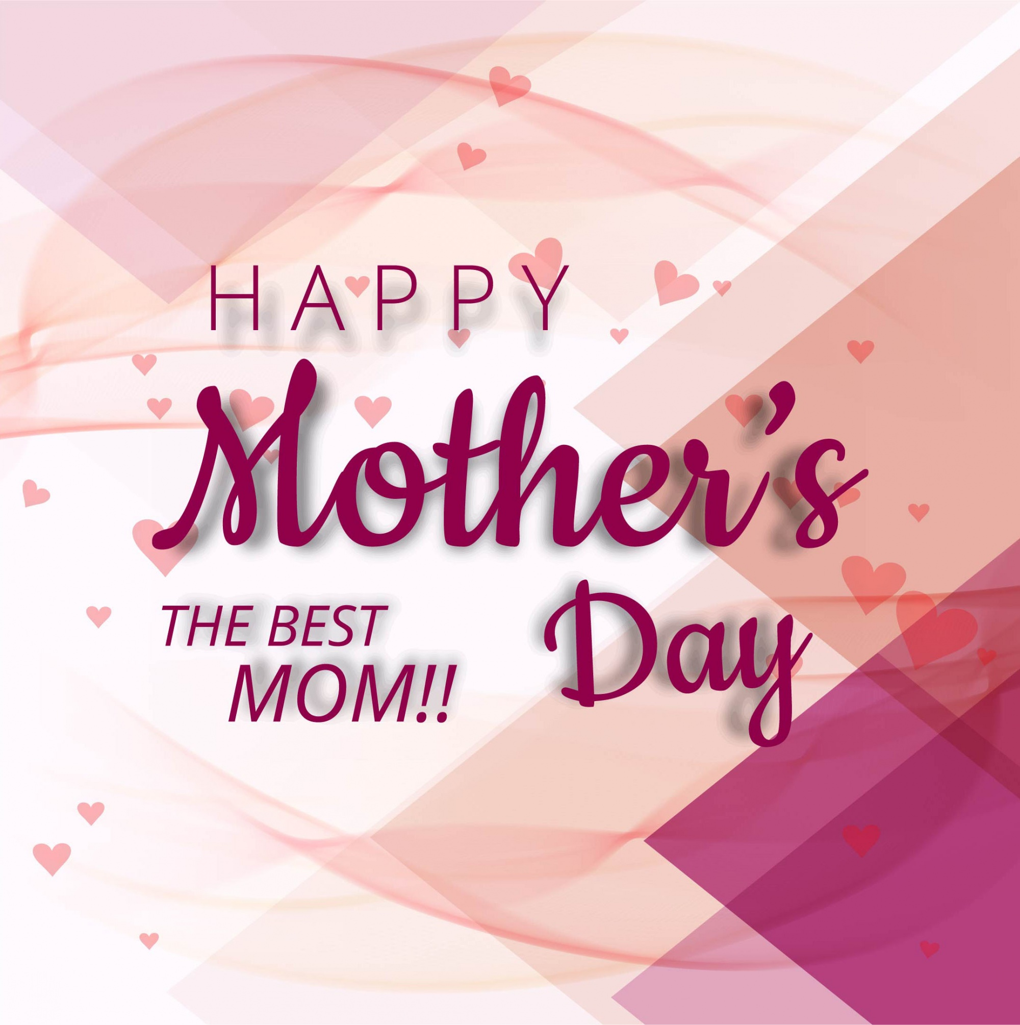 Abstract mother's day design