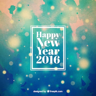 Abstract new year 2016 background