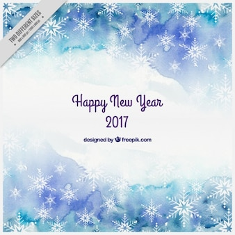 Abstract new year background in warercolor style