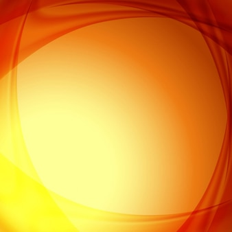 Abstract orange background design with space