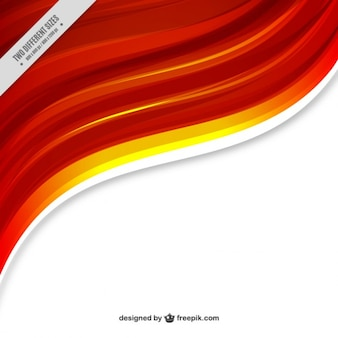 Аннотация оранжевый фон волна
