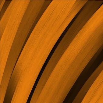 Abstract orange wavy background