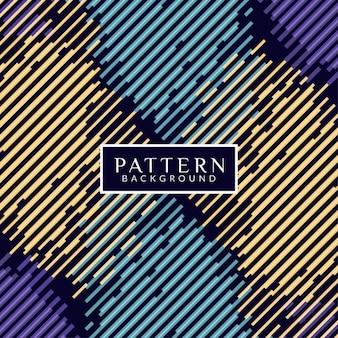 Abstract pattern background with colorful stripes