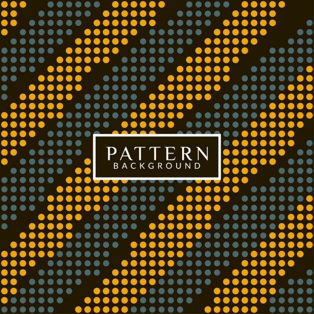 Abstract pattern background with dots