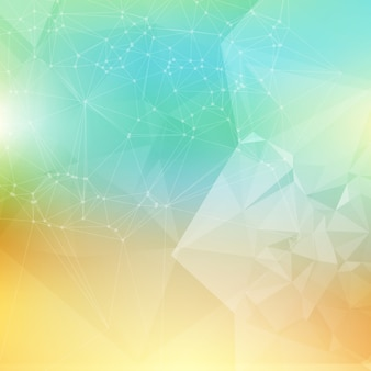Abstract poligonal background