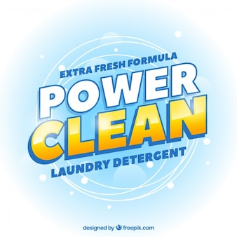 Abstract power cleaning background