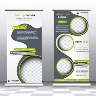 Abstract professional banners template
