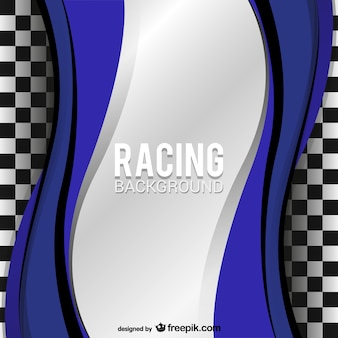 Abstract racing background