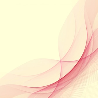 Abstract red wavy background design