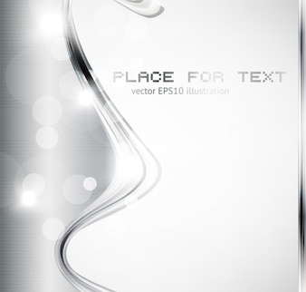 Abstract shine template glowing silver