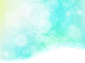 Abstract sky bokeh with swirls background
