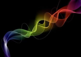 abstract smoke effect vector illustration