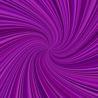 Abstract spiral ray background - vector graphic design from swirling rays
