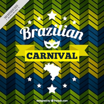 Abstract striped zig-zag carnival background