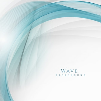 Abstract stylish modern wave background