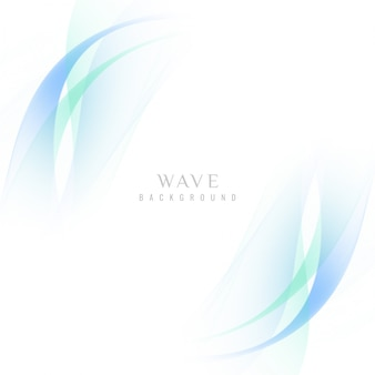 Abstract stylish wavy background design