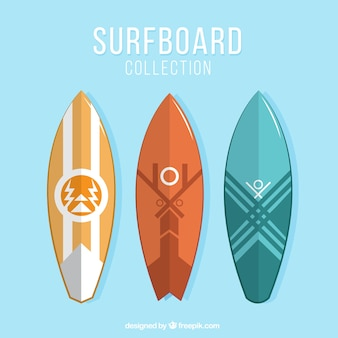 Abstract surfboards