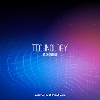 Abstract technological background of colors