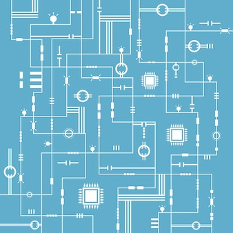 Abstract technology electronic background,